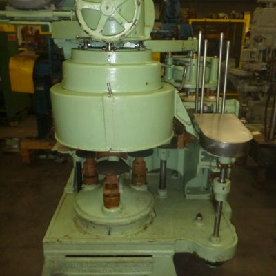 Picture of can seamer machine and parts from Melvina Can Machinery offering new and used can seamers and parts.