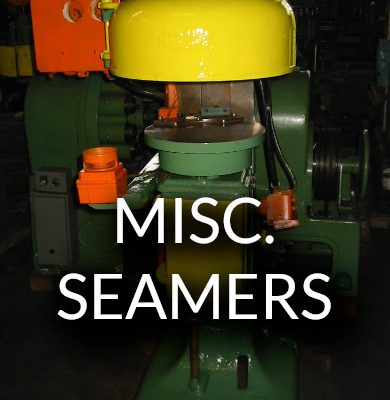 Used Miscellaneous Seamers